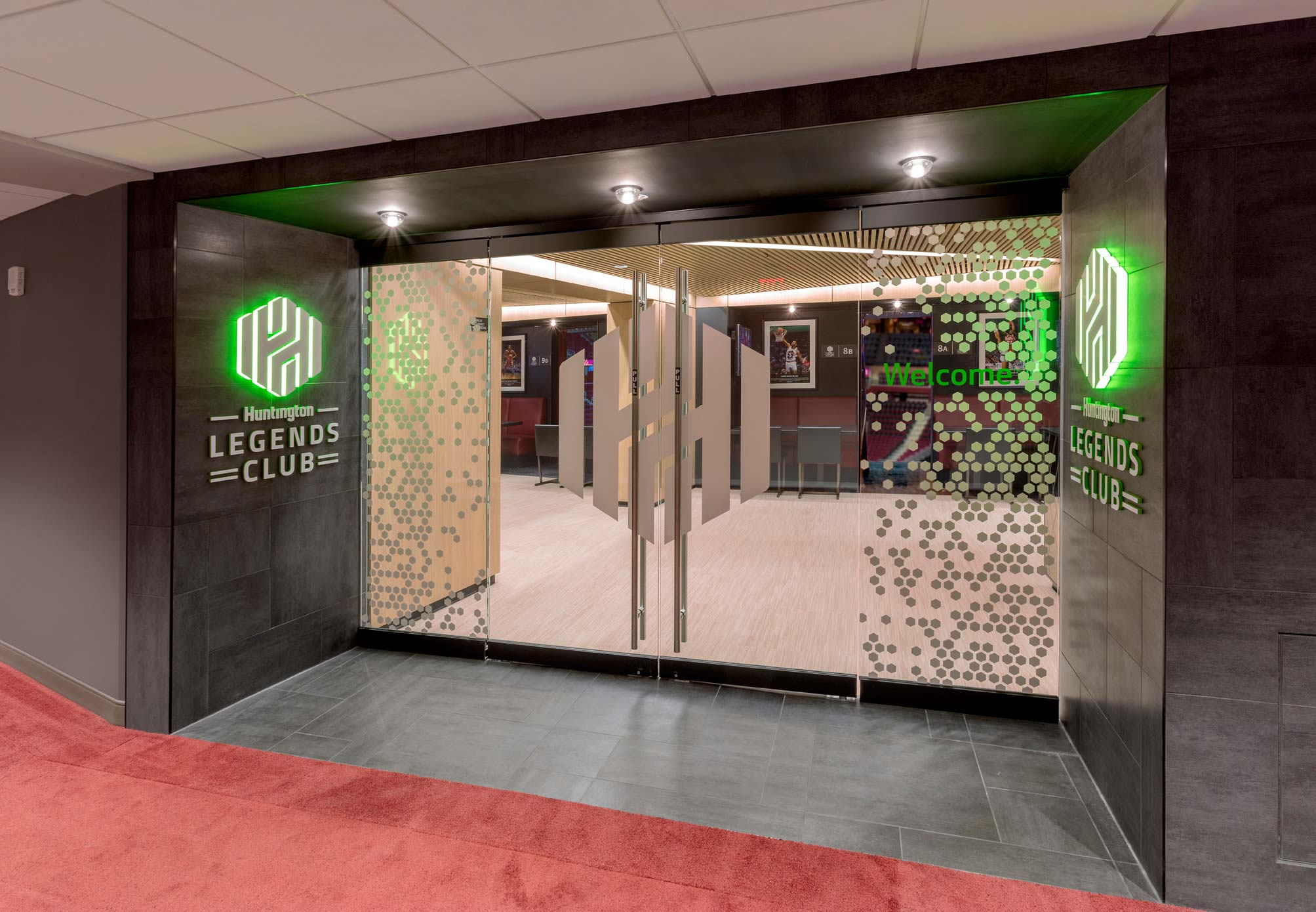 Huntington Legends Club Entrance